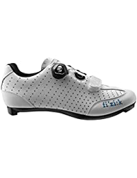 Women's R3B Donna Boa Road Sport Cycling Shoes - White w/Turquoise