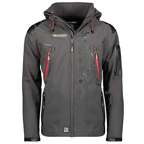 🥇 Geographical Norway Tambour Chaqueta Softshell para Hombre. Hombre
