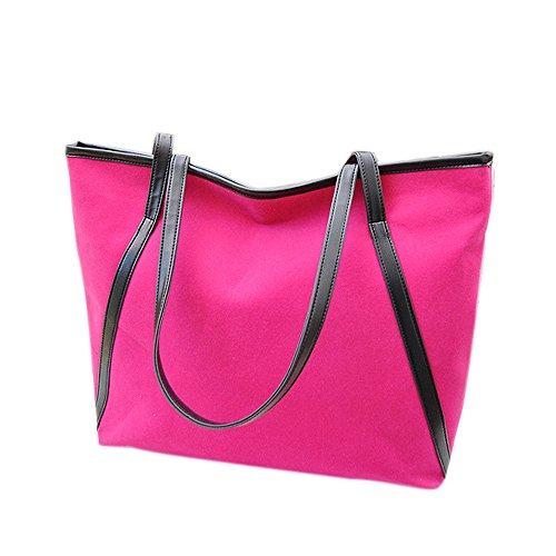 STINNA - Bolso de hombro mujer hot pink