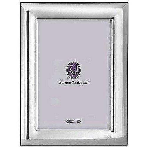 Zaramella Argenti® fluted TEL AVIV style in fine sterling silver - 4x6 by Zaramella Argenti Italia®