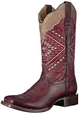 ROPER Womens Native Red Size: 5.5 US