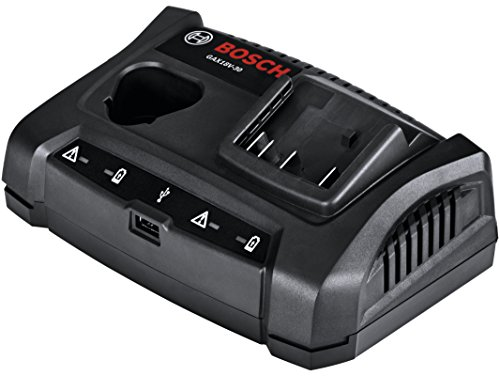 Bosch Gax18v-30 18v12v Dual-bay Battery Charger