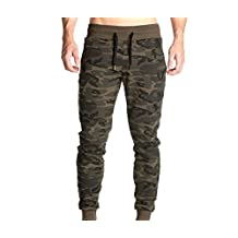 Chilie Sweatpants Men Camouflage Closed Bottom Warm Casual Slim Gym Running Sports Active Joggers Tracksuit