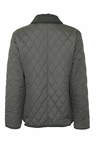 Olive Press Dark Country Fastening Aylesbury Chmpion Button Jacket Quilted Estate Womens Stud qPwYBHY