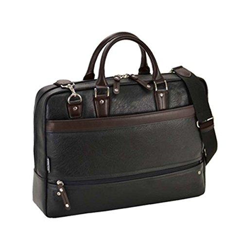 ハミルトン HAMILTON 合皮ビジネスシリーズ メンズ ビジネスバッグ ブリーフケース 26625 ブラック[並行輸入品] B06WVC4HQ5