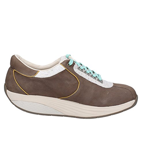 MBT Sneakers Donna 37 EU Marrone Pelle