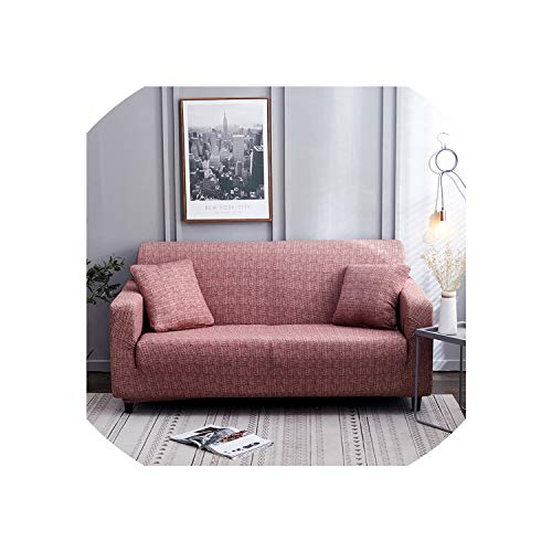 Slipcovers Sofa All-Inclusive Sectional L-Shape Couch Cover Elastic Full Sofa Cover for Living Room Chair/Loveseat/Sofa/Big Sofa,Color 11,4-Seater 235-300Cm