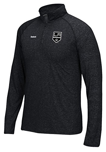Reebok Los Angeles Kings NHL Left Winger Speedwick 1/4 Zip Pullover Shirt