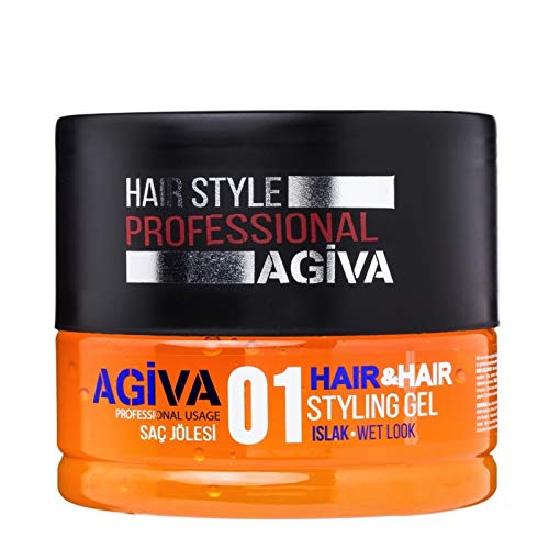 Agiva Hair Styling Gel 01 Wet Look 7oz (Best Product For Wet Hair Look)