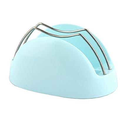 eDealMax Domésticos de Cocina Pan Tabla de cortar la cubierta del pote de la tapa sostenedor