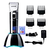 DEERCON Cordless Hair Clippers for Men Professional Barber Salon Hair Trimmer Grooming Cutting
