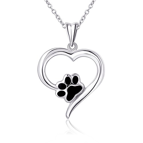 925 Sterling Silver Forever Love Heart P - Puppy Love Heart Shopping Results