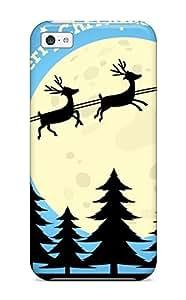 TYH - New Arrival JIYXuyg6304jJXPi Premium ipod Touch4 Case(merry Christmas 2012) ending phone case