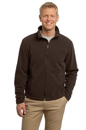 Port Authority Men's Value Fleece Jacket 4XL Dark Chocolate Brown