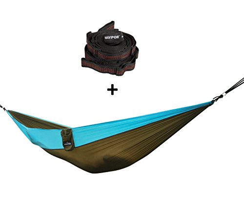 the best set parachute double hammock with 2 suspension straps on amazon lightweight gear for the best set parachute double hammock with 2 suspension straps on      rh   thecamping panion