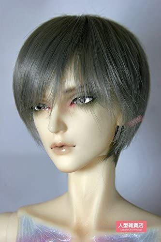 13 BJD Doll Hair Wig Curly Brown 8-9inch 20-22cm DF-3DW004