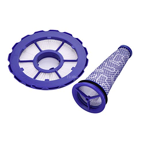 Home Deals USA Replace Dyson DC50 Filter (dc50 Combo Pack) Animal and Multi Floor vacuums, Part Number 965080-01 & 965081-01 (Dyson Replacement Parts Dc50)