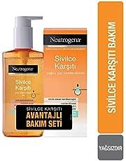 Neutrogena Sivilce Karşıtı Temizleme Jeli 150 ml+Nemlendirici 50 ml 1 Paket (1 x 400 g)