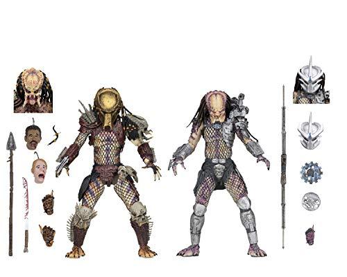 NECA - Predator - 7 Scale Action Figures - Ultimate Bad Blood vs Enforcer 2-Pack
