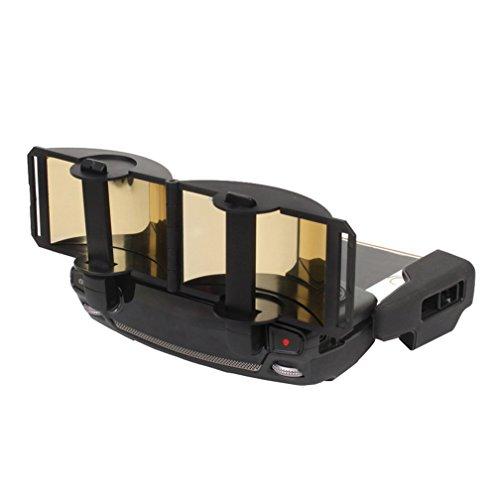 MoreToys Remote control Signal Extender Transmitter Amplifier Antenna Range Booster for DJI Mavic Pro Quadcopter Drone (Gold)