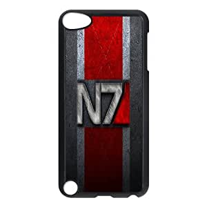 Ipod Touch 5 Phone Case for Classic theme Mass Effect N7 Logo pattern design GCTMSEFNL791874