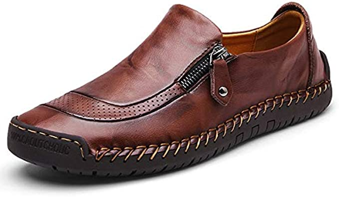 Non-Slip Oxford Casual Leather Loafers