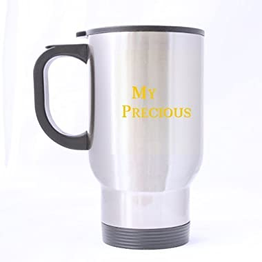 My Precious Stainless Steel Travel Mug (silver)-14 ounces