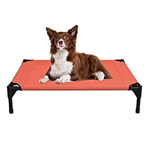 Veehoo Cooling Elevated Dog Bed Portable Raised Pet Cot