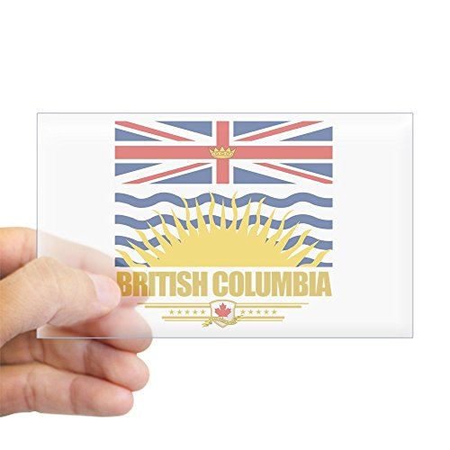 CafePress - British Columbia Pride Sticker (Rectangle) for sale  Delivered anywhere in Canada