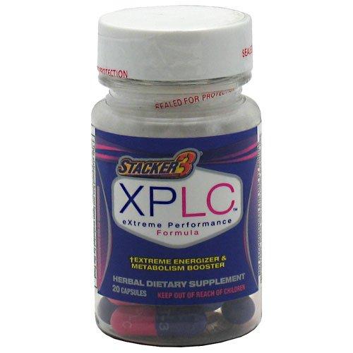 NVE Pharmaceuticals XPLC Extreme Energizer et métabolisme Booster 20 ch