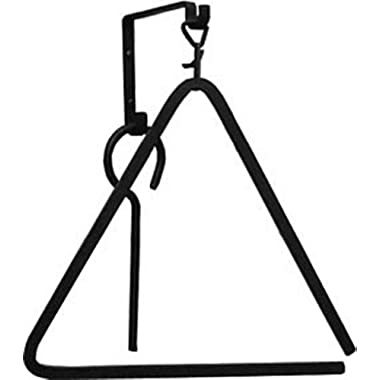 Iron Large 15  Dinner Triangle Bell - Black Metal Farmhouse Supper Chime