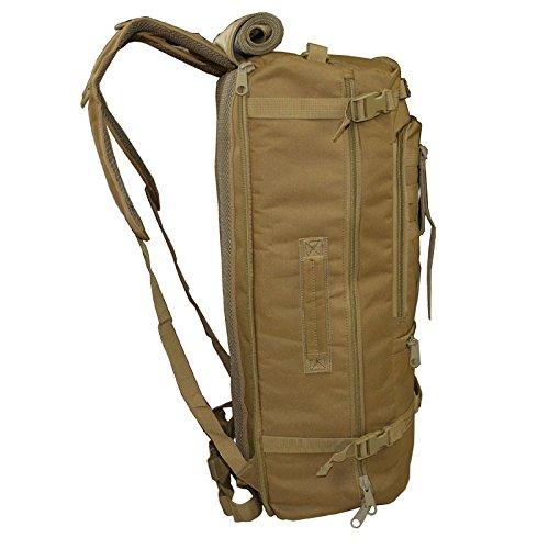 XD-DE-Multi-funktionale Tarnung outdoor-Reisen Tasche/Rucksack/Outdoor-Klettern/taktischen Rucksack militärischen Enthusiasten einzelne Schulter Rucksack Khaki YbB5xmpHnG