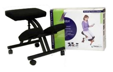 Jobri BetterPosture Standard Kneeling Chair - Kneeler Chair - Ergonomic Kneeling Chair for Back Pain