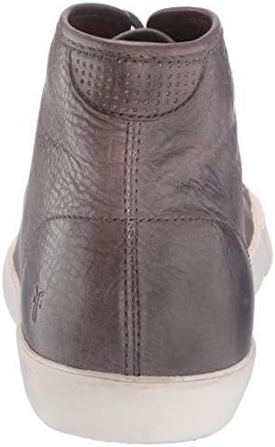 FRYE Men's Brett HIGH Sneaker Slate 8.5 M