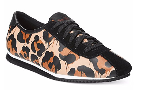 Entraîneur Ivoire Lace Up Sneaker
