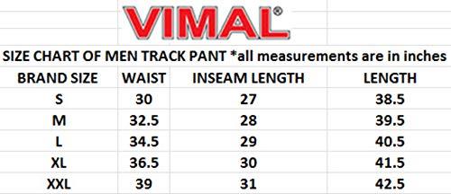 41w48ldsmyL Vimal Men's Cotton Blend Trackpantss