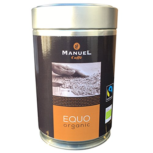 Organic GROUND BEANS Italian Espresso 250g. Fine Blend Of Roasted Premium Ground Coffee From Fair Trade Producers. EQUO By Manuel Caffe. Rich And Thick Crema. Multiple Items Saving Offer.