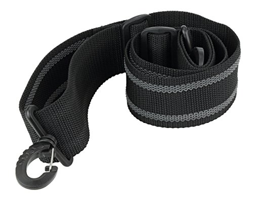 - Made in USA Black Heavy Duty Grip Strip Plastic Hardware Replacement Shoulder Luggage Travel Bag Strap 2