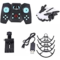 Rucan Wifi Foldabl Quadcopter Pocket Remote Control Helicopter Drone+2MP Camera (D)