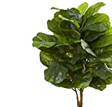 Nearly Natural Artificial 4†Fiddle Leaf Tree