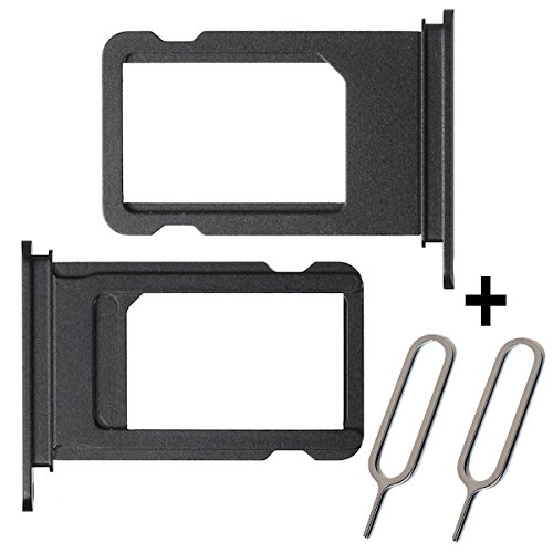 BisLinks Black SIM Card Tray Holder Replacement Part For Apple iPhone 7 Plus by BisLinks® (Image #5)