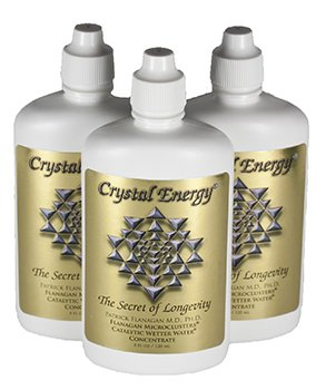 "Phi Sciences Crystal Energy ""Hunza Water"" 3 PACK"
