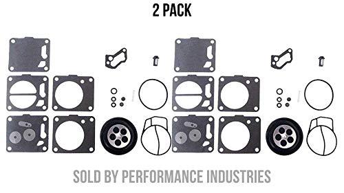 Super BN SBN Dual Carb Yamaha Seadoo Polaris Mikuni carburetor rebuild kit -  Performance Industries, CRK-MK-15-001-02