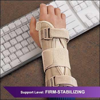 ACE Brand Deluxe Wrist Stabilizer, support for Carpal Tunnel Syndrome, sprains & strains, tendonitis