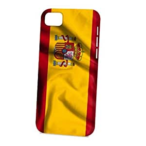 Case Fun For SamSung Galaxy S4 Case CoverVogue Version - 3D Full Wrap - Flag of Spain Style 2