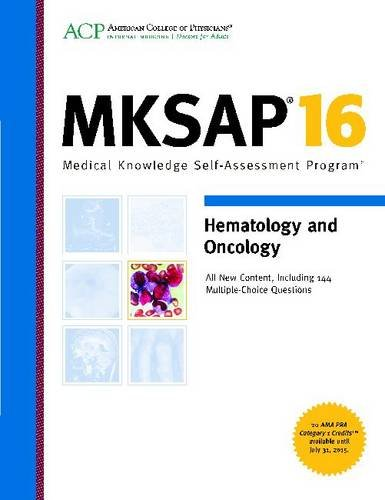 MKSAP 16 Hematology and Oncology