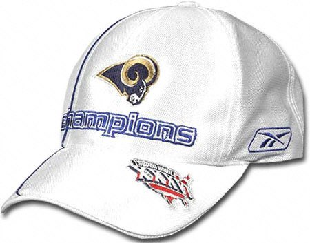 Rams Louis Locker Room - St. Louis Rams 2001 NFC Conference Champion Locker Room Cap