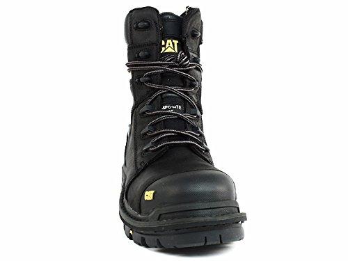Caterpillar Men's Mortise 8'' Waterproof Work Boot Composite Toe Black 11.5 D(M) US by Caterpillar (Image #7)