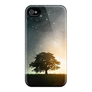 Magic WindoFor Iphone 5/5S Case Cover (Watercolor style, Black)