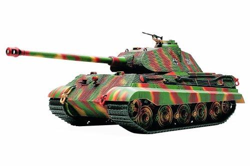 Tamiya 1/48 German King Tiger - Porsche Turret - German King Tiger Production Turret